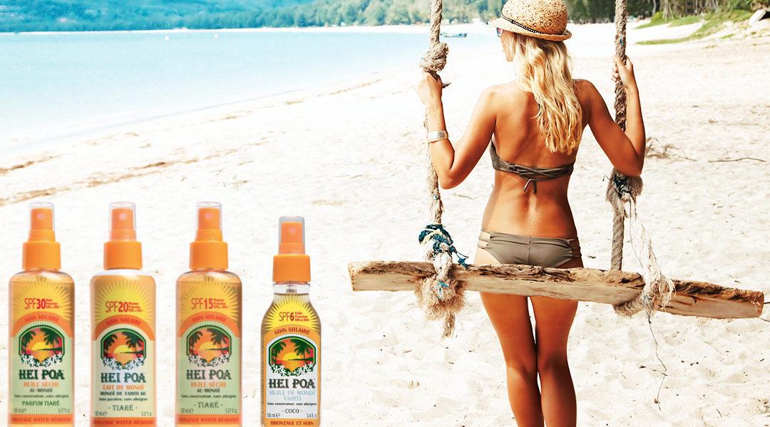 Ραντεβού και στην παραλία, με αντηλιακά της HEI POA!