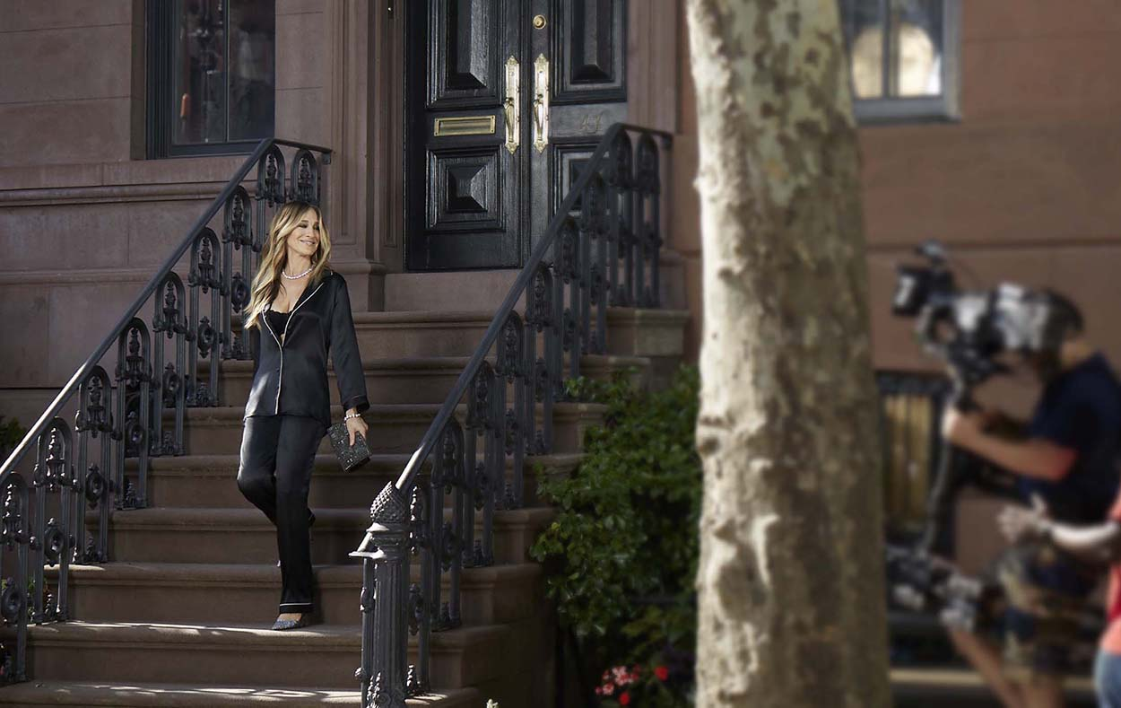 bc28c90cfde Sarah Jessica Parker: Στη Νέα Υόρκη με... πιτζάμες! - Madame LeFo