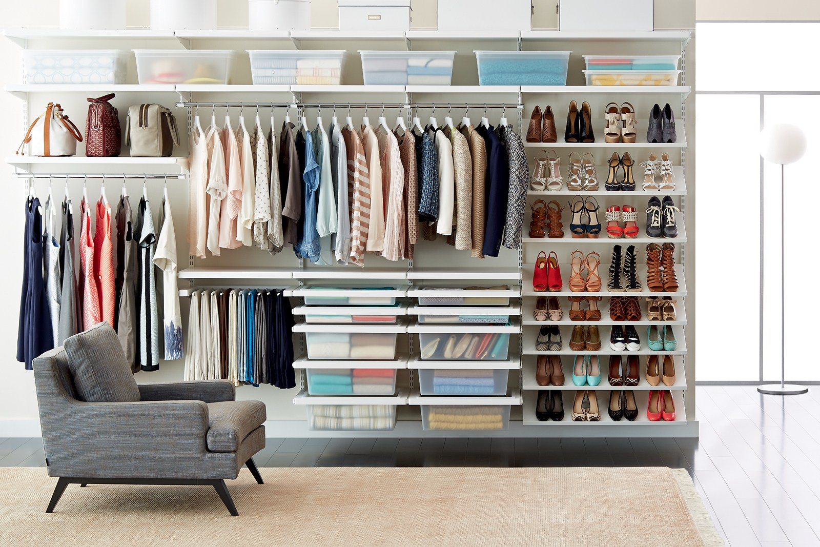 Cool Blog Post Closet Storage Ideas How To Organize Your Closet  Container Store Closet Organizer Ideas Small Closets Closet Organizer Ideas Home Depotu2013  ...